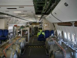 Technik im Sprühflugzeug