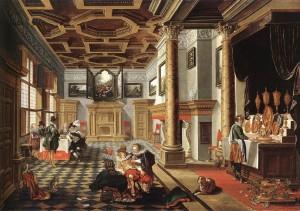 BASSEN,_Bartholomeus_van,_Renaissance_Interior_with_Banqueters,_1618-20