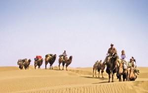 Auf dem Weg Marco Polos