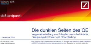 DB-Research findet mit 25 Jahren Verspätung zur Euro-Realität. Cui Bono?