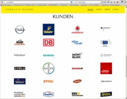 Die Kundenliste von Scholz & Friends