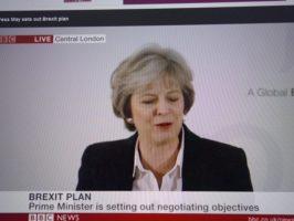 Theresa May verhandelt aus der Position der Stärke