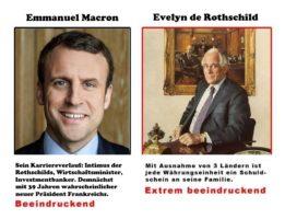 Frankreich Wahl: Macrons Geheimnis – Eine Marionette der Rothschilds