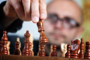 Nichts als Schachfiguren