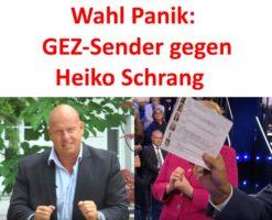 Wahl-Panik: GEZ-Sender gegen Heiko Schrang