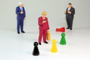 Merkel mehr als angezählt