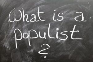 Von linken und rechten Populisten